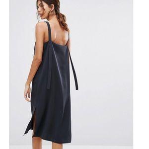 ASOS Overall Style Banded Hem Slip Dress